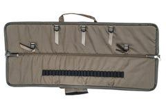 El bolso para encubierto lleva del subfusil ametrallador Aislado fotografía de archivo libre de regalías