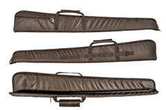 El bolso para encubierto lleva del subfusil ametrallador Aislado imagenes de archivo