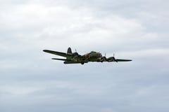 El bombardero de Sally B Fotos de archivo libres de regalías