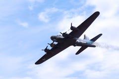 El bombardero de Sally B WW2 Imagenes de archivo