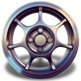 El borde 3D de la aleación ligera de Sportcar rinde vista delantera Imagenes de archivo