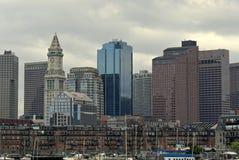 El borde de Boston imagen de archivo