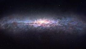 El borde de la galaxia Fotos de archivo