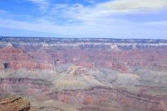 El borde del sur de Magnificient de Grand Canyon Fotos de archivo libres de regalías