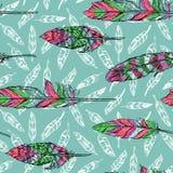 El bosquejar de plumas Imagen de archivo