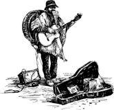 Banda del hombre Imagen de archivo