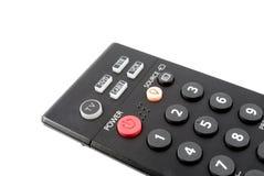 El botón de la potencia en un panel teledirigido Foto de archivo