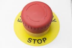 El botón de paro Imagen de archivo