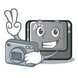 El botón del carácter del alt del fotógrafo ató el teclado ilustración del vector