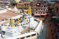 El Boudanath Stupa Foto de archivo libre de regalías