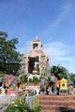 El Brahma cuatro-hecho frente de oro (Phra Phrom) Fotos de archivo libres de regalías