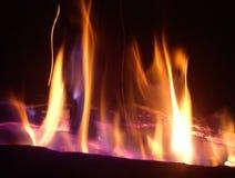 el-brand fuego Royaltyfri Fotografi