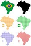 El Brasil stock de ilustración