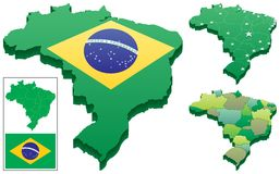 El Brasil Fotos de archivo libres de regalías