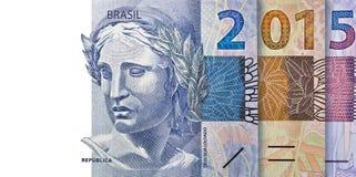 El Brasil financiero 2015 Imagenes de archivo
