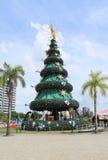 El Brasil, Manaus/Ponta Negra: Árbol de navidad Fotos de archivo