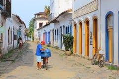 El Brasil - Paraty Foto de archivo libre de regalías