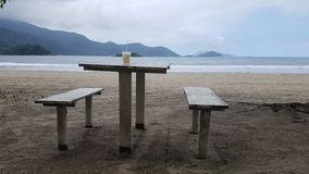 el Brasil Playa fotos de archivo