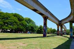 El Brasil, Porto Alegre, 12 12 2015 - arquitectura urbana Imagen de archivo libre de regalías