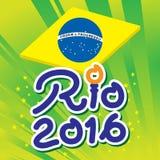 El Brasil Rio de Janeiro Olympic Games 2016 Fotos de archivo