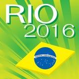 El Brasil Rio de Janeiro Olympic Games 2016 Imagen de archivo libre de regalías