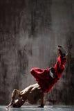 El breakdancer Fotos de archivo libres de regalías