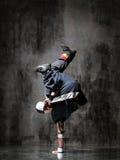 El breakdancer Imagen de archivo libre de regalías