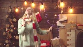 El brillante festivo Regalos de la Navidad  metrajes