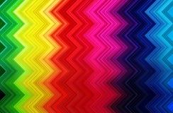 El brillar intensamente abstracto de la onda del espectro ilustración del vector