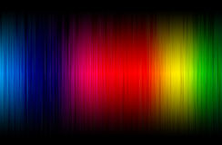 El brillar intensamente abstracto del espectro Fotos de archivo libres de regalías