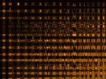El brillar intensamente anaranjado Imagen de archivo