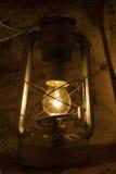 El brillar intensamente eléctrico futurista de la lámpara de calle foto de archivo libre de regalías