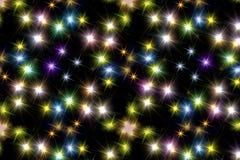 El brillo de las estrellas Fotos de archivo