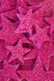 El brillo púrpura protagoniza el fondo Fotos de archivo