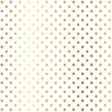 El brillo puntea geométrico en el fondo blanco, textura del oro Brillo dotspattern Papel pintado geométrico del brillo stock de ilustración