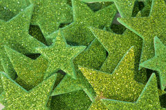 El brillo verde protagoniza el fondo Imagen de archivo libre de regalías