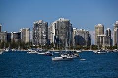 El broadwater, Gold Coast Imágenes de archivo libres de regalías