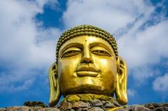 El Buda de oro Fotografía de archivo libre de regalías
