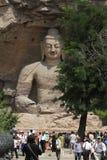 El Buda de Yungang Foto de archivo