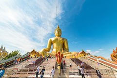 El Buda grande de la estatua de Tailandia Foto de archivo