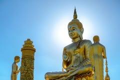 El Buda Sculpter bajo luz del sol Foto de archivo