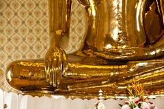 El buddha de oro Fotografía de archivo