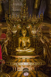 El buddha de oro Foto de archivo libre de regalías