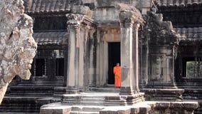 El budismo corrigió la secuencia, paz, meditación, positividad almacen de metraje de vídeo