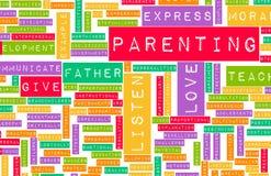 El buen Parenting Fotografía de archivo