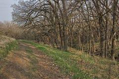 El buen parque de estado de la tierra es un parque de estado urbano al borde de Sioux Falls, área del metro de Dakota del Sur foto de archivo libre de regalías