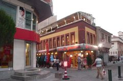 El buen restaurante Imagenes de archivo