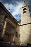 El buiding histórico: iglesia Fotos de archivo