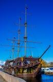 El buque de guerra Imagen de archivo libre de regalías