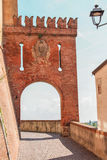 El burg de Barolo fotografía de archivo libre de regalías
